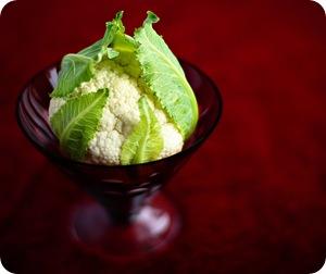 Салат из цветной капусты и яиц
