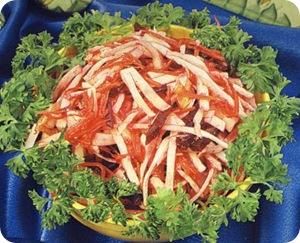 Салат из капусты, моркови и свеклы